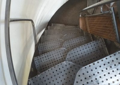 Bespoke Space-Saver Paddle-Style Staircase